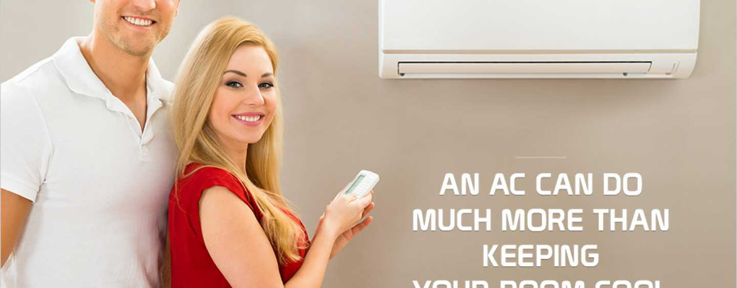 Apart From Cooling, Here Are The Eight Functions That An Air Conditioner Can Perform