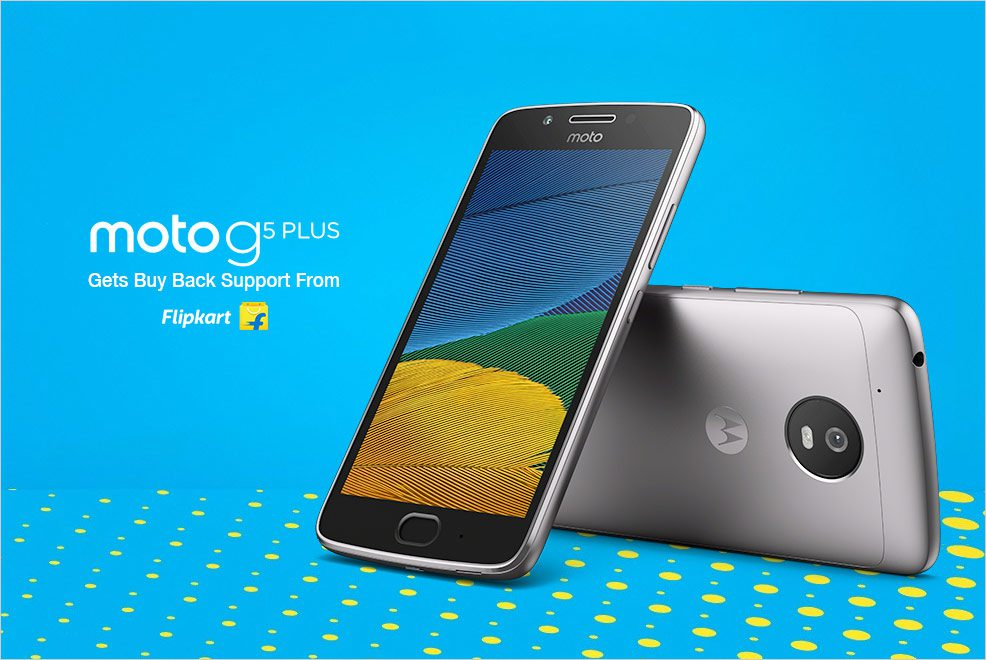 Moto G5 Plus Sale Starts Today, Comes With BuyBack Guarantee From Flipkart