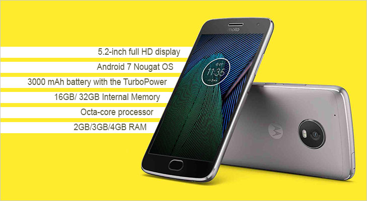 Moto G5 plus features