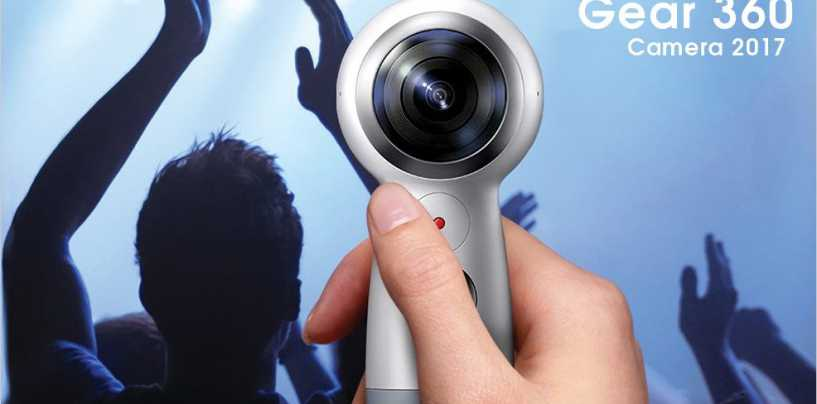 Samsung's Gear 360 Camera All Set to Impress Once Again!