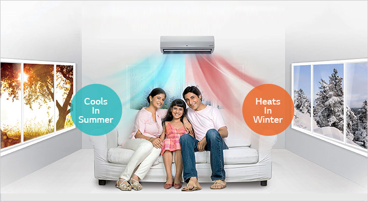 Things your AC can do hot and cold AC