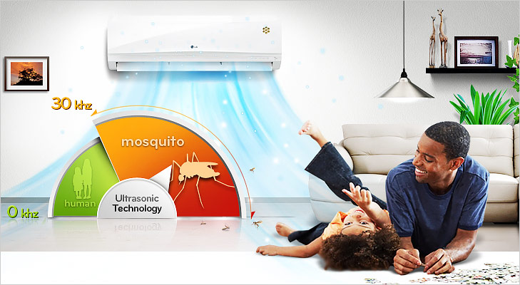 Things your AC can do mosquito ultrasonic wave technology