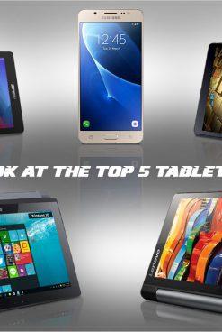 Top 5 tablets under 15K