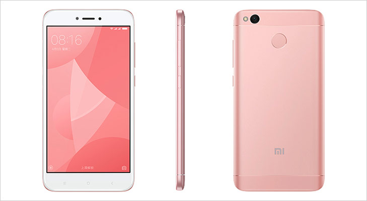 Xiaomi redmi 4X 2.5D glass stylish metal body