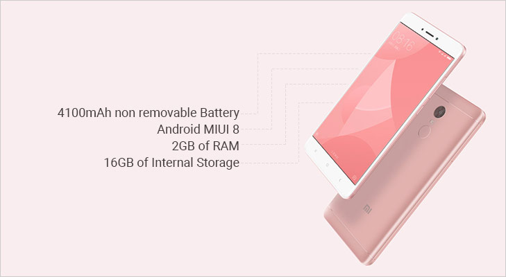 Xiaomi redmi 4X features
