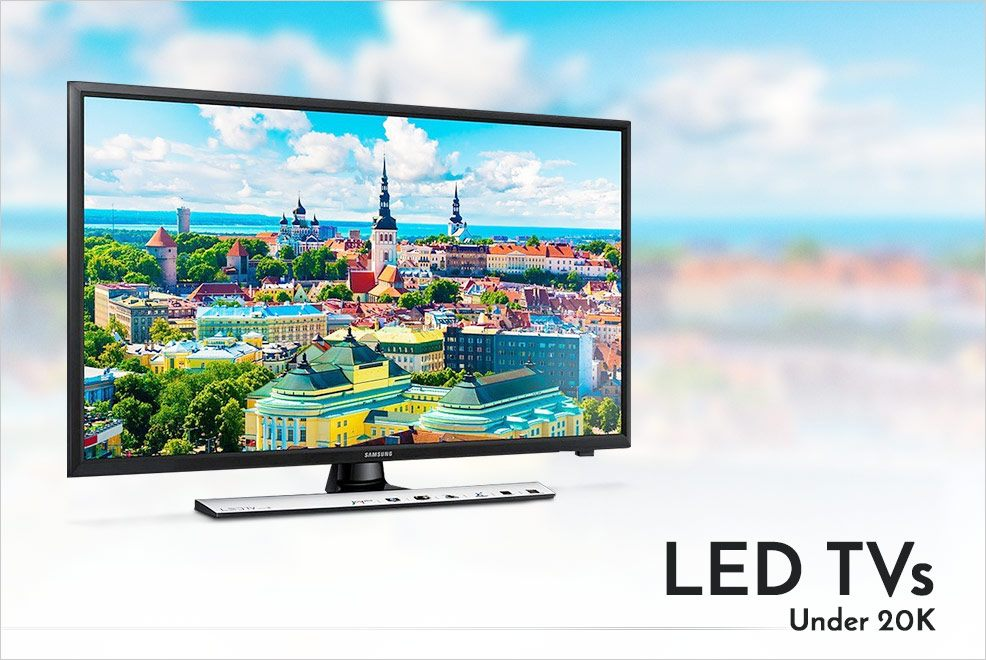 5 Best LED TVs Under 20K to Purchase