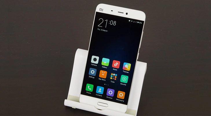 Best Smartphones Xiaomi Mi5