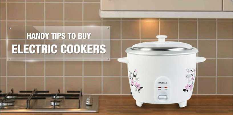 Buy a New Electric Cooker with these 5 Handy Tips