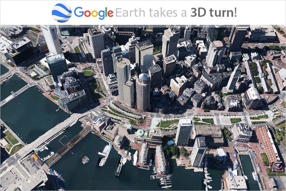 Google Earth 3D Imagery Revolutionising Our View of the World