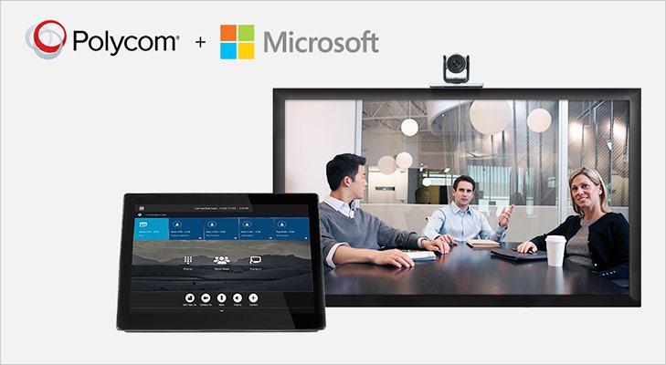 Microsoft Skype Polycom
