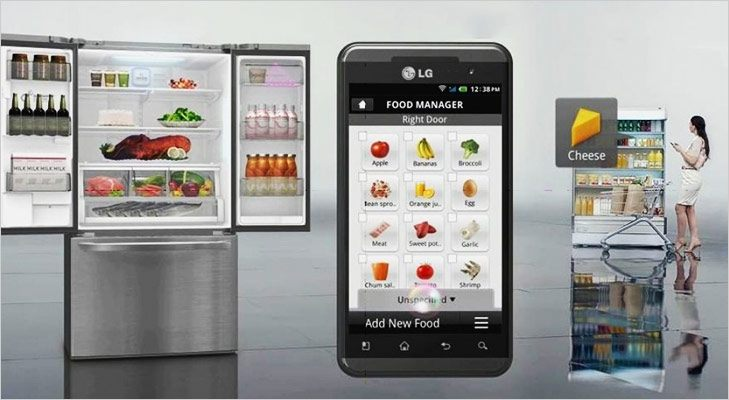 Smart Gadgets ThinQ Refrigerator