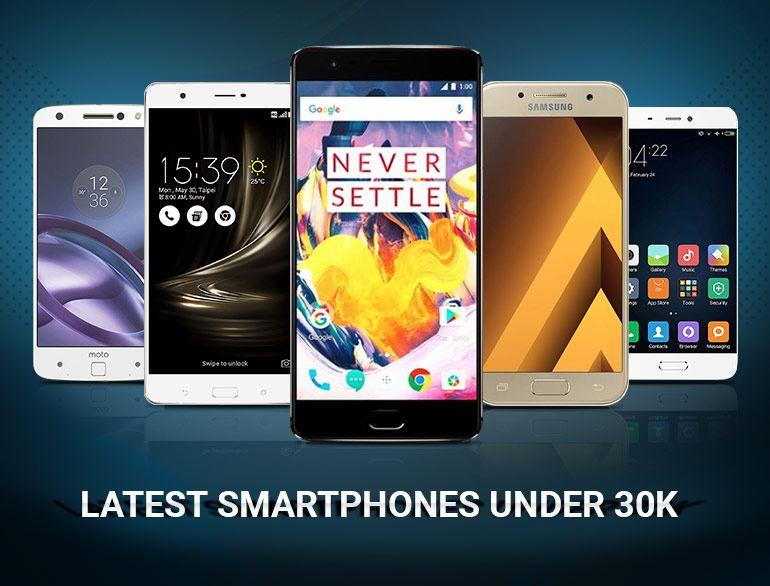 Smartphones under 30K
