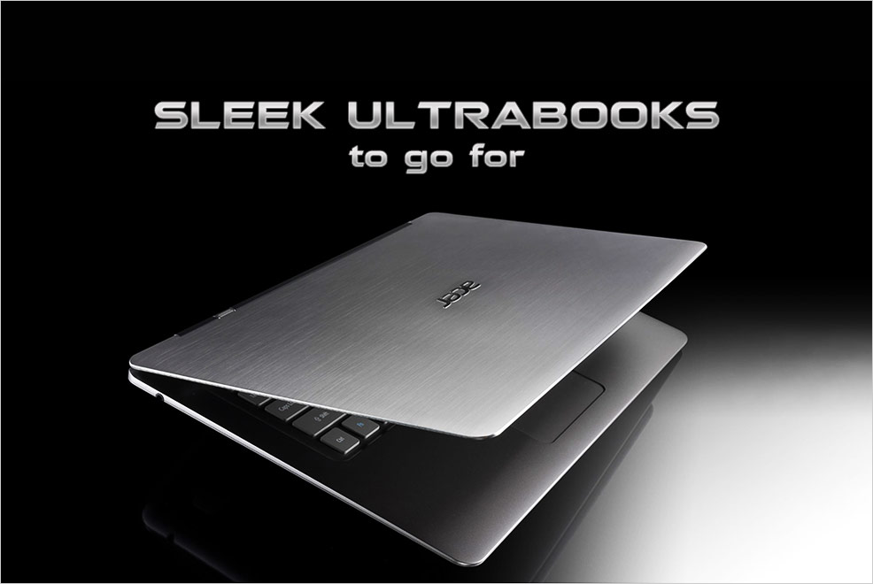 Sleek Ultrabooks