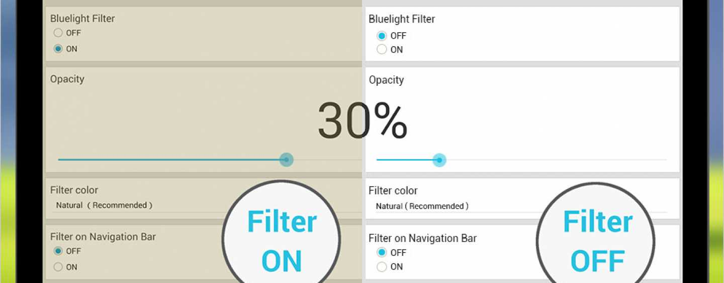 Save your eyes. Enable 'blue light filter' on your phone and computer today