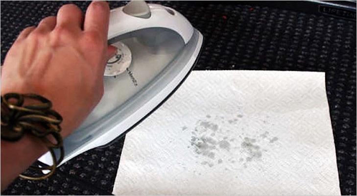 Remove wax