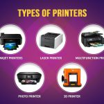 Types of Printers and which ones suit your need