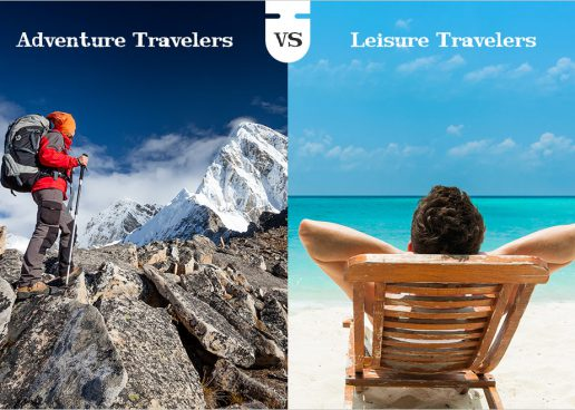 Adventure Travelers Vs Leisure Travelers