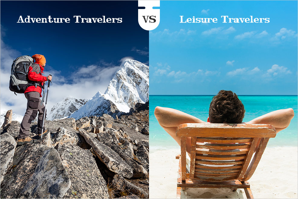 Adventure Travelers Vs Leisure Travelers