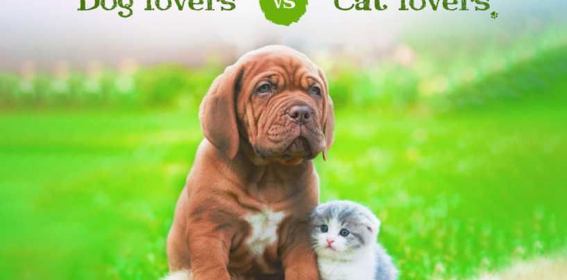 Cat Lovers vs. Dog Lovers
