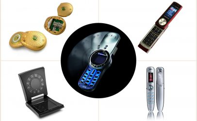 The weirdest looking mobile phones ever designed!