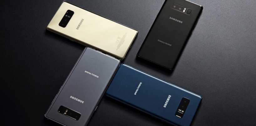 Samsung Galaxy Note 8 Mobile specification