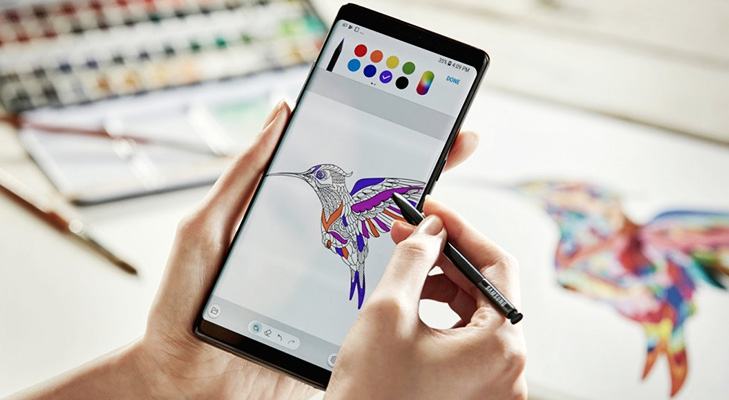 Galaxynote8withstylus