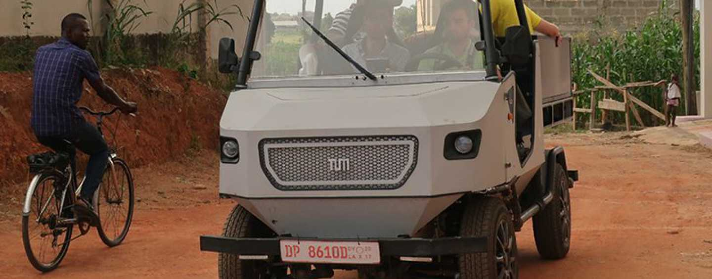 Meet The Electric Car Made For Rural Areas