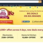 Amazon's Great Indian Festival Sale Begins On September 21