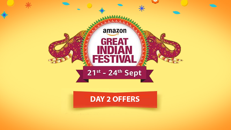 Amazon Great Indian Festival Sale Day 2: Treasure Trove of Deals Calling Out to You