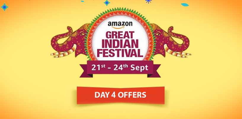Amazon Great Indian Festival Sale Day 4: Your Last Chance to Seize the Best Deals