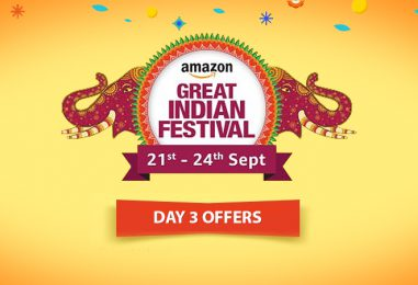 Amazon Great Indian Festival Sale Day 3: It's Time to Get Drenched in the Deluge of Deals