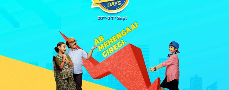 Flipkart Big Billion Days 2017: Show Begins on 20th September