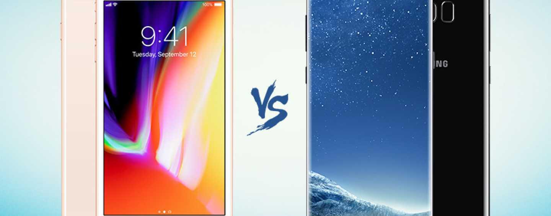 iPhone X vs. iPhone8 vs. Samsung s8 vs. Samsung Note 8