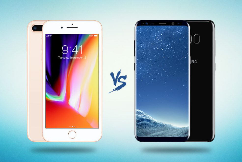 iPhone X vs. iPhone8 vs. Samsung s8 vs. Samsung Note 8