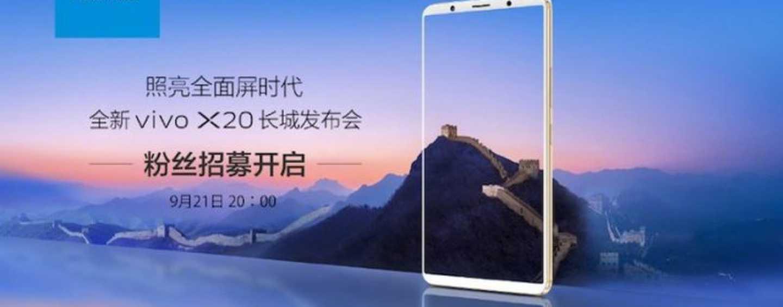 Vivo To Launch Selfie-Centric X20 Smartphone Next Week