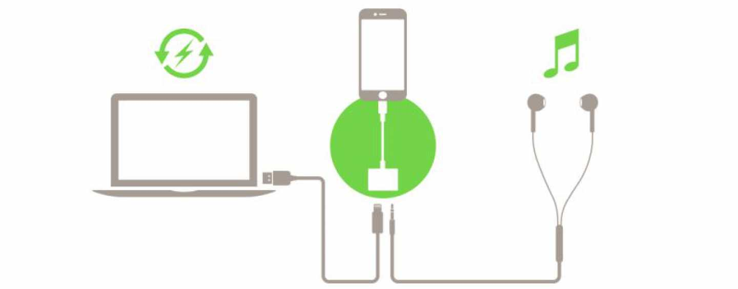 You Can Finally Charge The iPhone And Plug-In Earphones Simultaneously