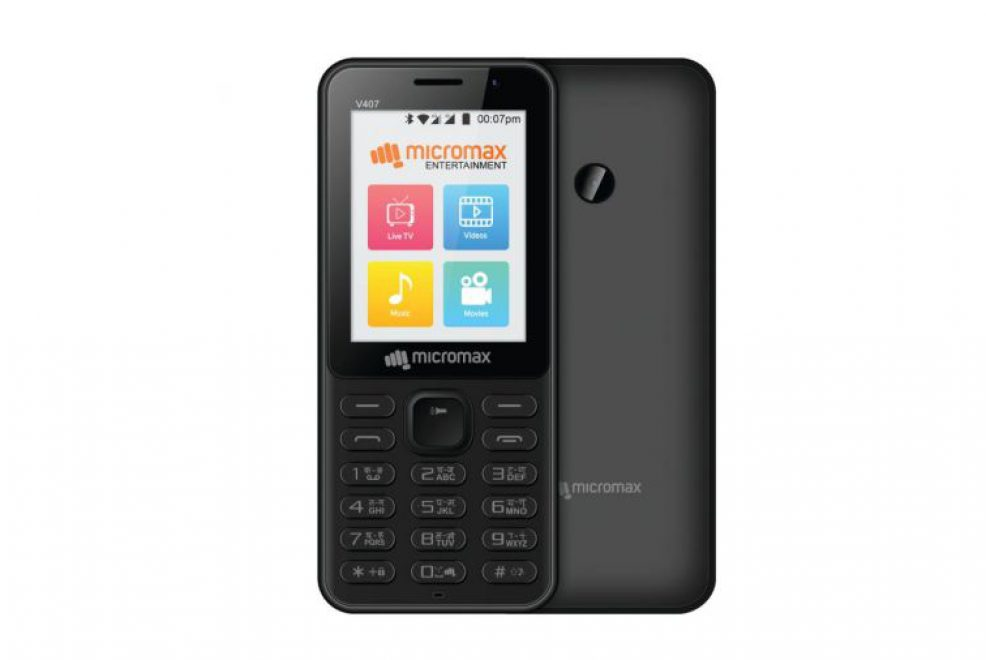 Micromax Bharat-1 4G Phone Takes On The Jio Phone