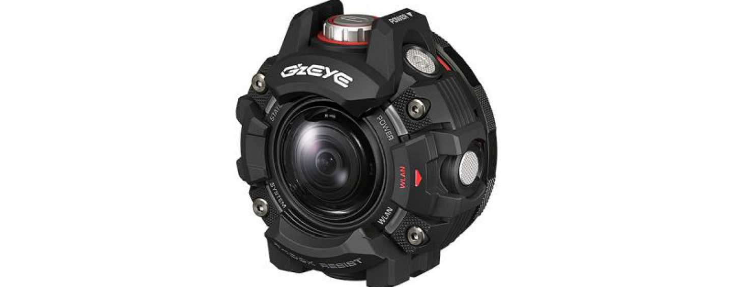 Casio's GZE-1 Action Camera Looks Like A Cyborg's Eye