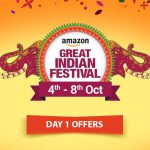 Amazon Great Indian Festival Sale (4th to 8th October): Day One of Outstanding Deals