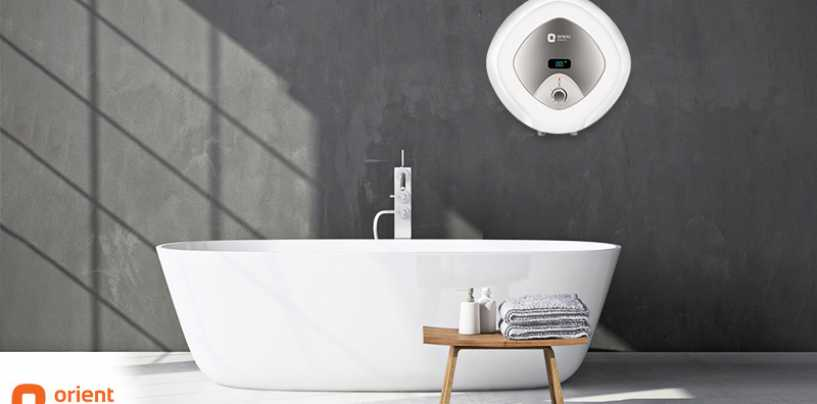 Orient Launches Stylish Yet Robust Enamour Water Heater