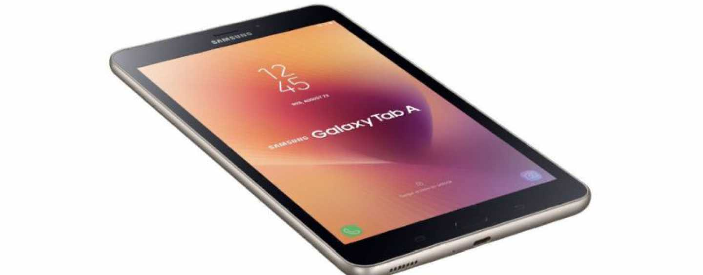 Samsung Launches The Galaxy Tab A (2017) For Rs 17,990