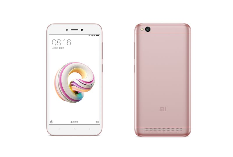 Redmi 5A Now Available In Rose Gold