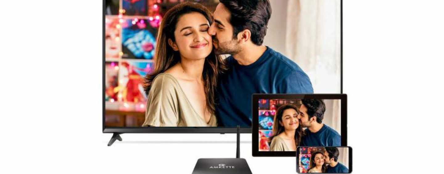 Amkette Launches Evo TV 3 4K Android Box For Rs 7,999