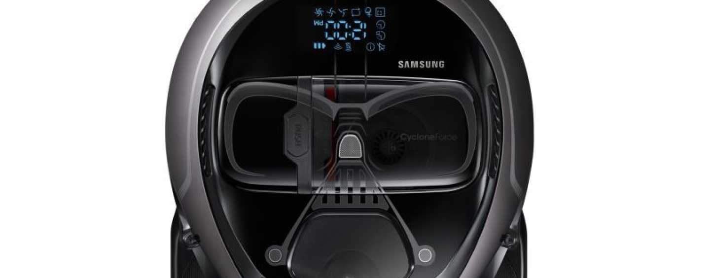 Samsung Unveils Star Wars Inspired Robot Cleaners