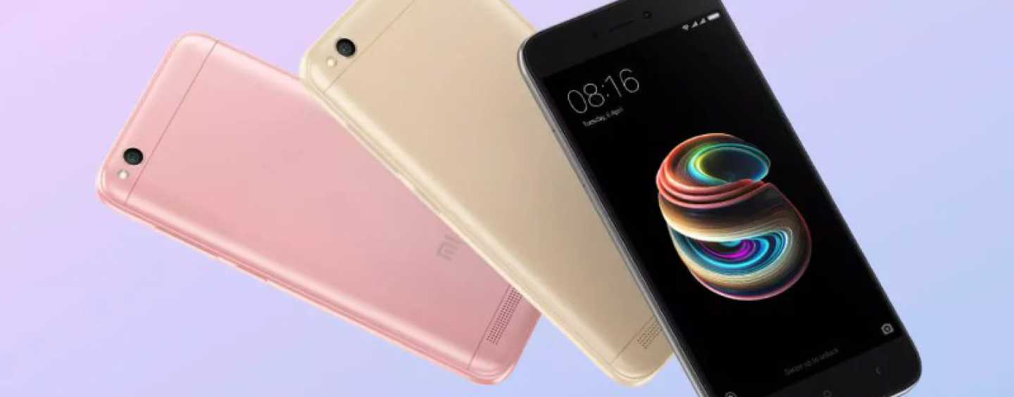 Xiaomi Offers A Rs 1000 Discount On The Redmi 5A