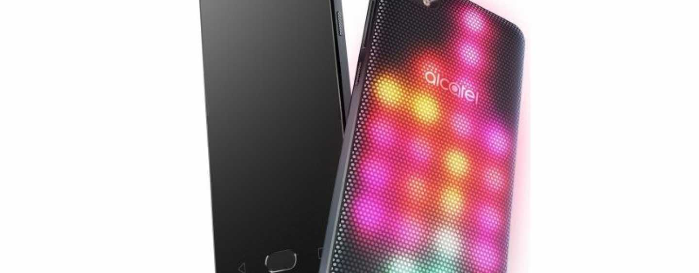 Alcatel Launches The A5 LED Smartphone For Attention Seekers