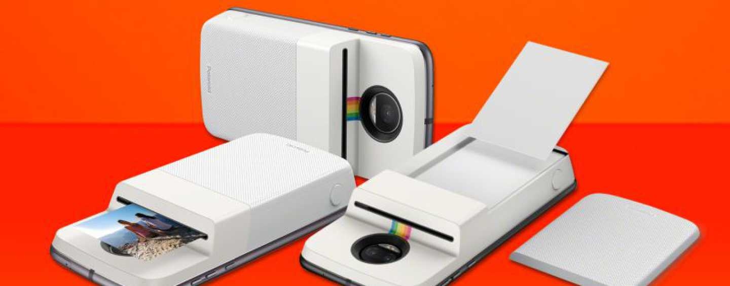Lenovo Partners With Polaroid To Launch Insta-Share Moto Mod