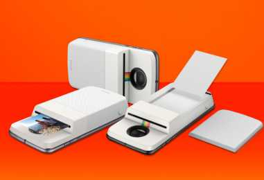 Lenovo Partners With Polaroid To Launch Insta-Share Moto Mod