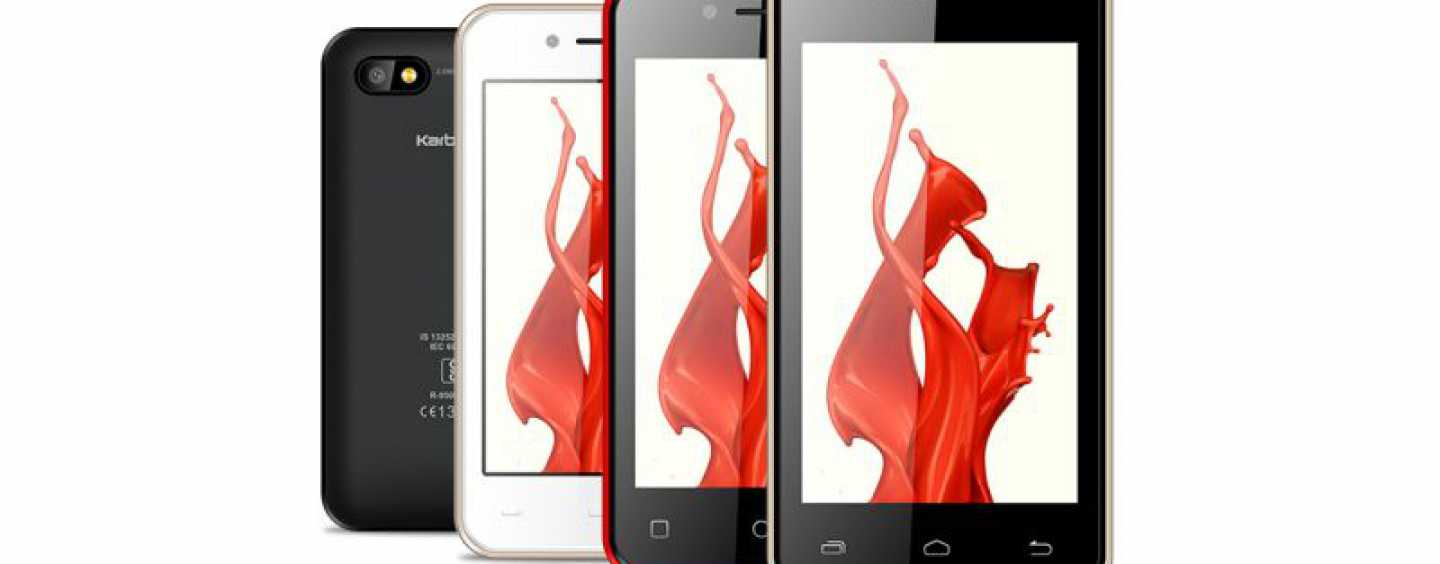 Karbonn Launches Two Smartphones Priced Under Rs 2,000