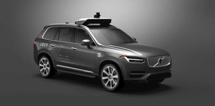 Uber Orders 24,000 Autonomous Cars From Volvo